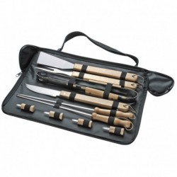 Set Cubiertos Asado en estuche flexible